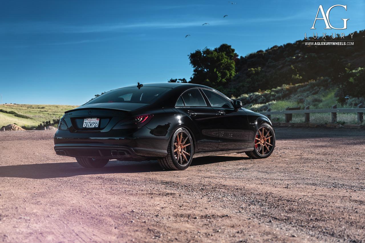 Carbon Fiber Wheels >> AG Luxury Wheels - Mercedes-Benz CLS63 AMG Forged Wheels