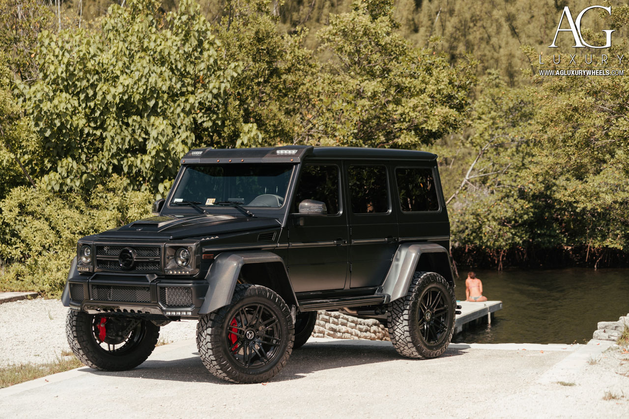 ag luxury wheels mercedes benz g500 4x4 forged wheels. Black Bedroom Furniture Sets. Home Design Ideas