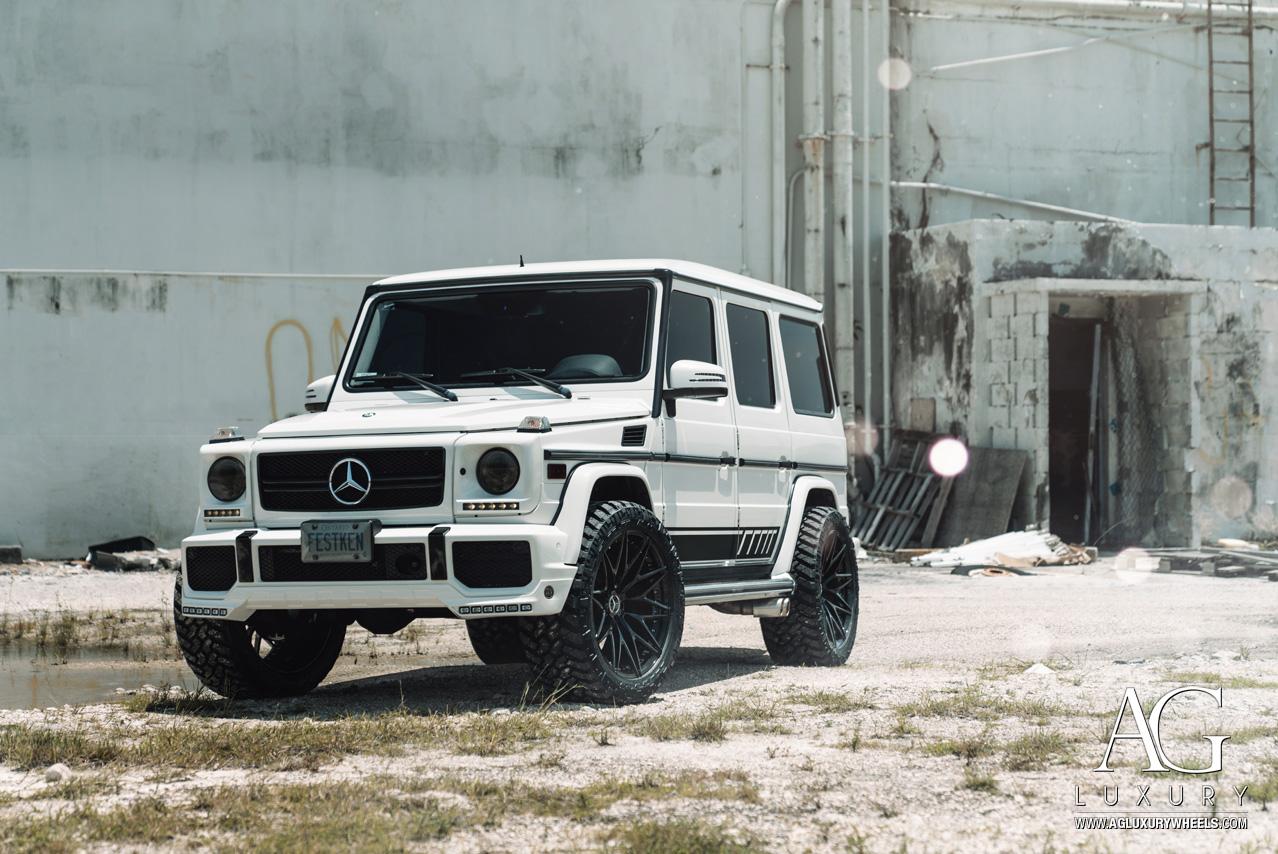 Ag Luxury Wheels Mercedes Benz G550 Agl40 Forged Wheels