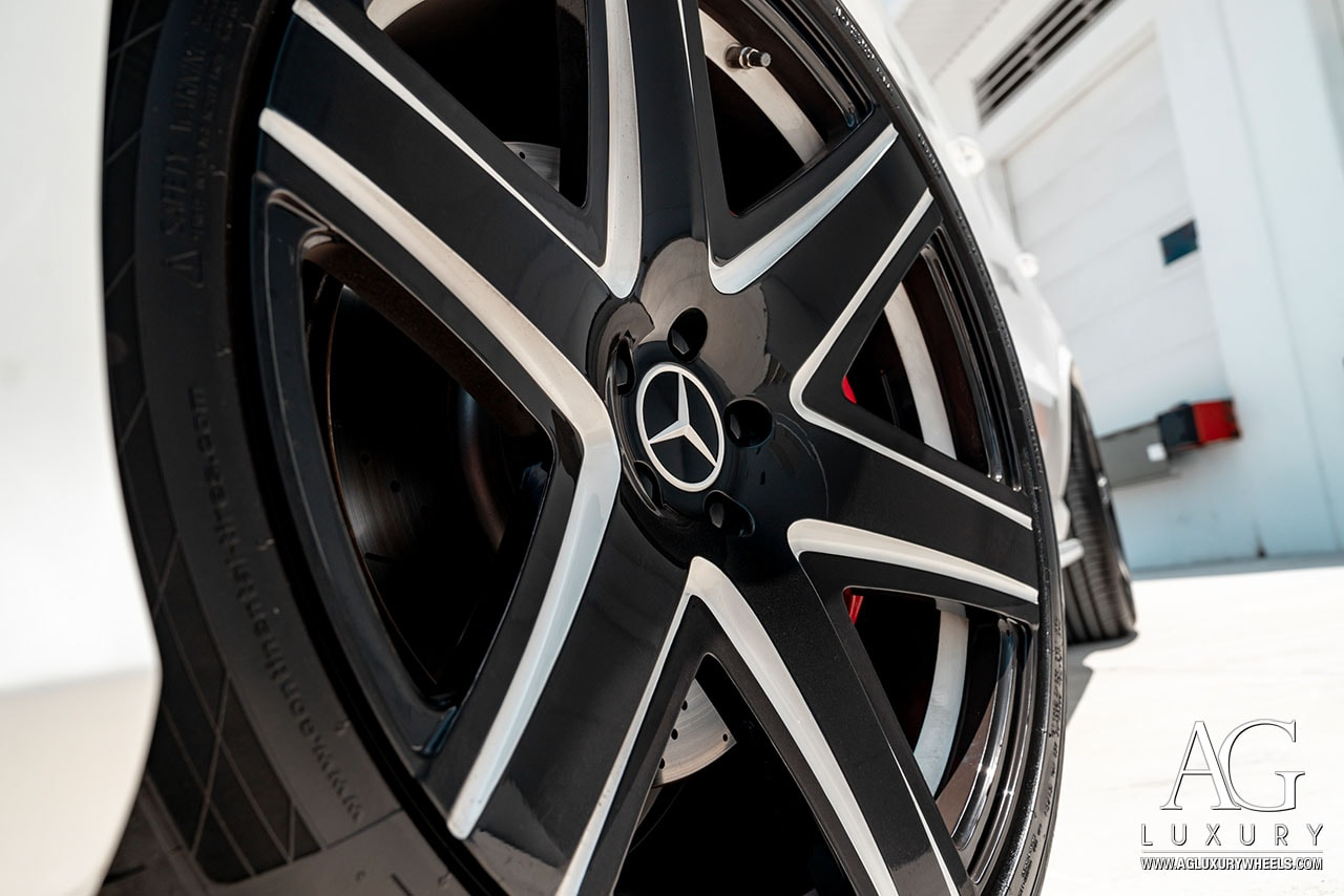 agluxury agl34 22inch monoblock gle63 amg coupe wheel wheels merecedes benz mercedes-benz ag luxury mbamg mbusa gle63amg amgcoupe two-tone 5spoke 22inch 22s 22 mccustoms mc customs miami