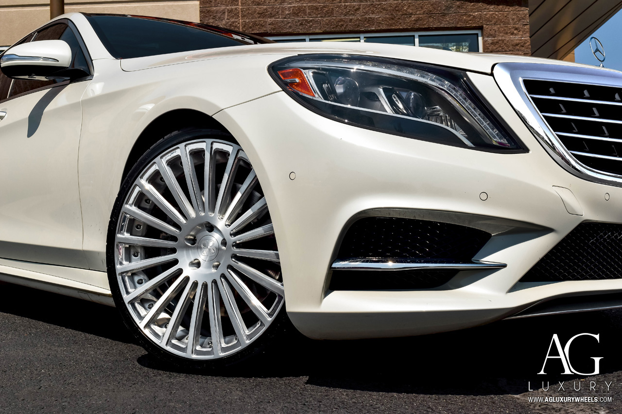 AG Luxury Wheels - Mercedes-Benz S550 AGL25 Duo Block ...
