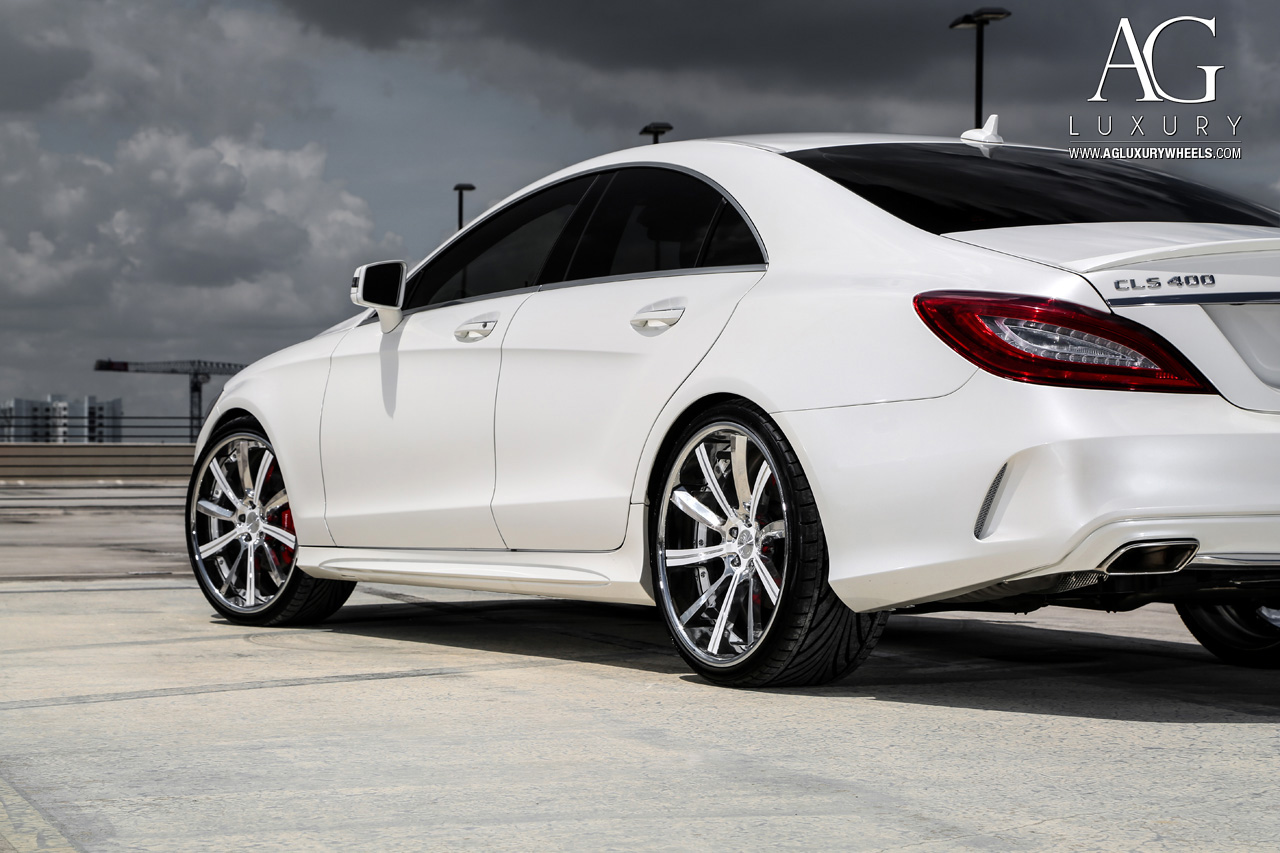 Ag luxury wheels mercedes benz cls400 forged for Mercedes benz 400
