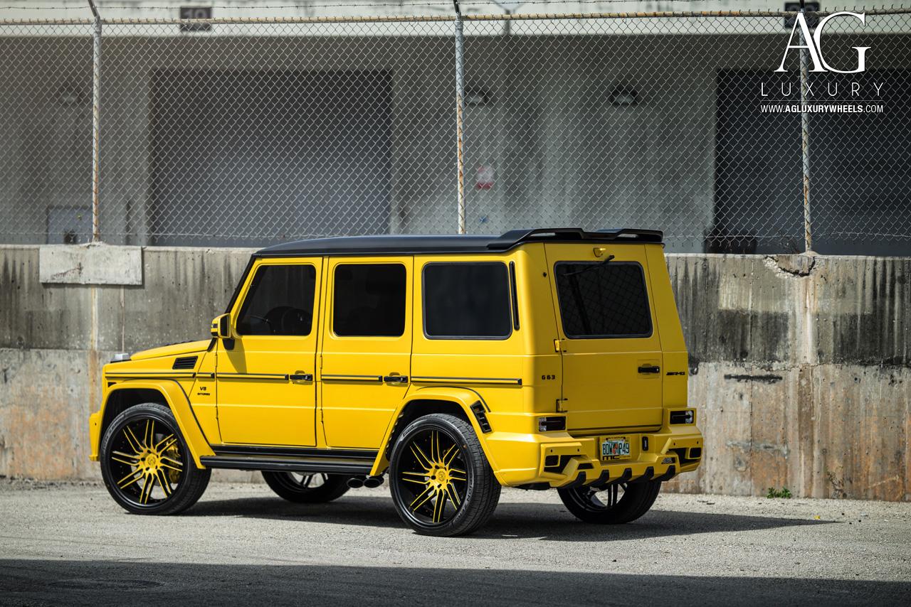AG Luxury Wheels - Mercedes-Benz G63 AMG Forged Wheels