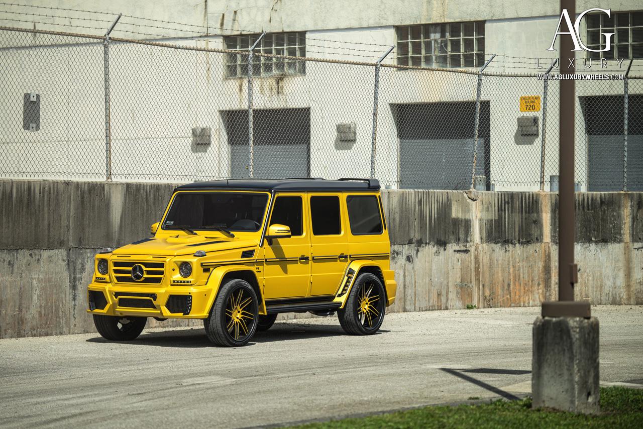 Mercedes Benz G63 >> AG Luxury Wheels - Mercedes-Benz G63 AMG Forged Wheels
