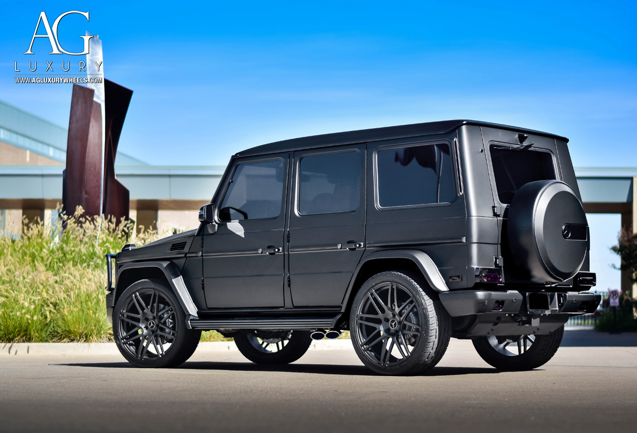 Mercedes G Wagon Matte Black >> AG Luxury Wheels - Mercedes-Benz AMG G63 AGL44 Forged Wheels