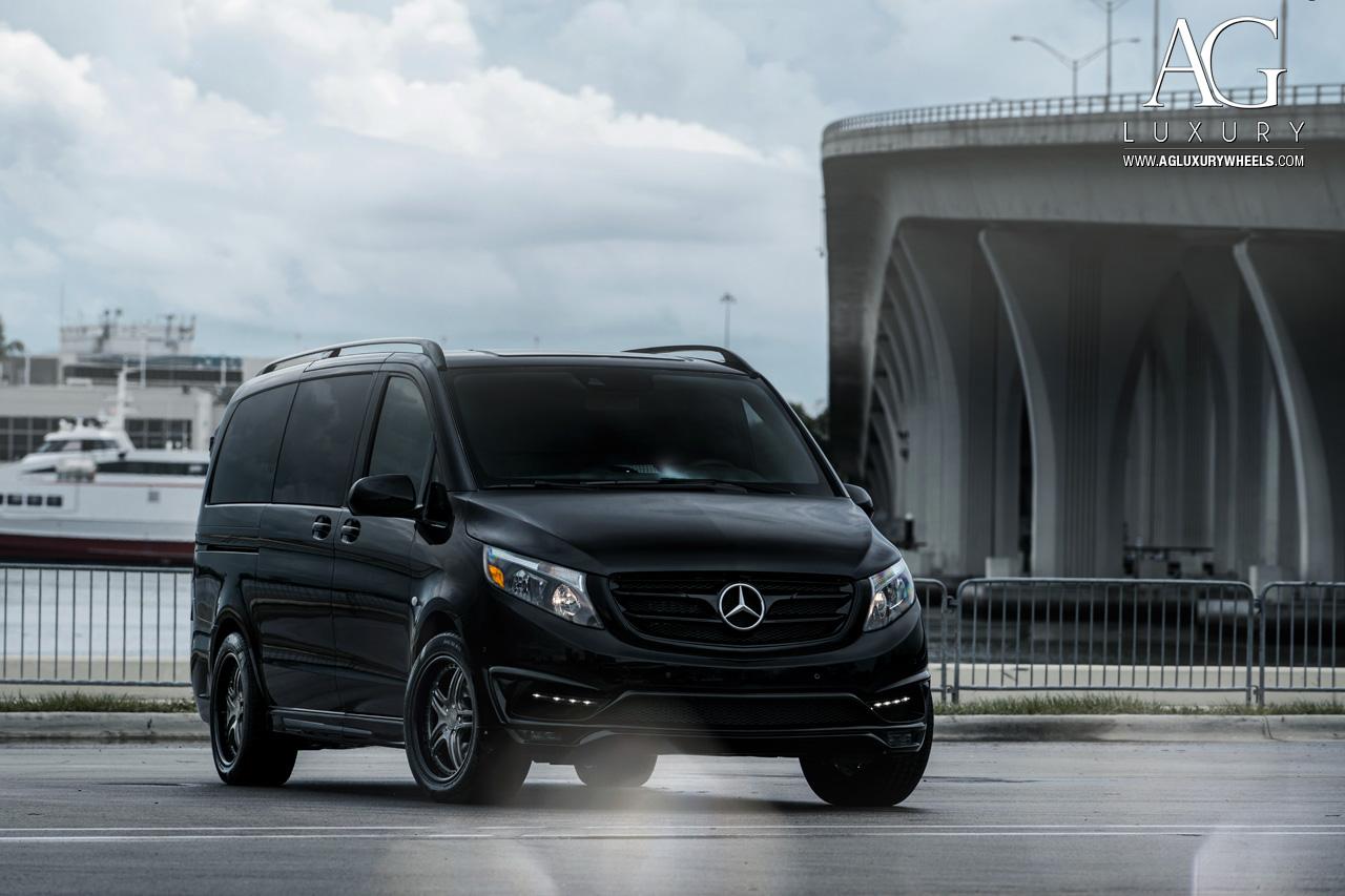 Mercedes Benz Van >> AG Luxury Wheels - Mercedes-Benz Metris Forged Wheels