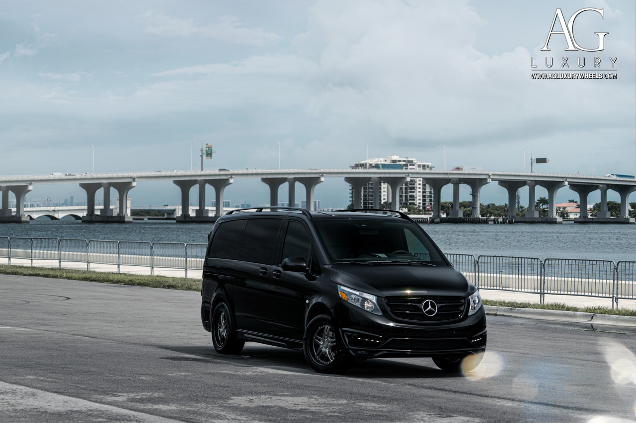 Mercedes Metris Van >> AG Luxury Wheels - Mercedes-Benz Metris Forged Wheels