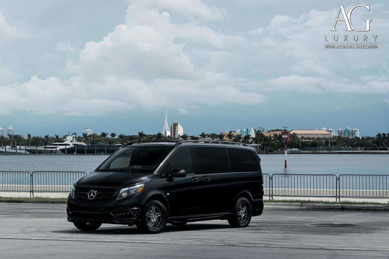 Mercedes Metris Van >> AG Luxury Wheels - Mercedes-Benz Metris Forged Wheels