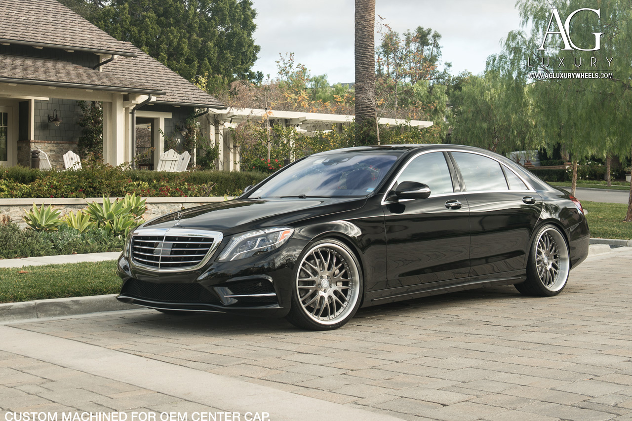 Mercedes Benz A Class >> AG Luxury Wheels - Mercedes-Benz S550 Forged Wheels