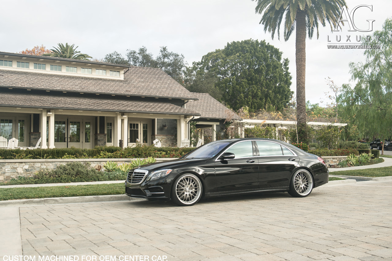 Ag luxury wheels mercedes benz s550 forged wheels for Mercedes benz ag