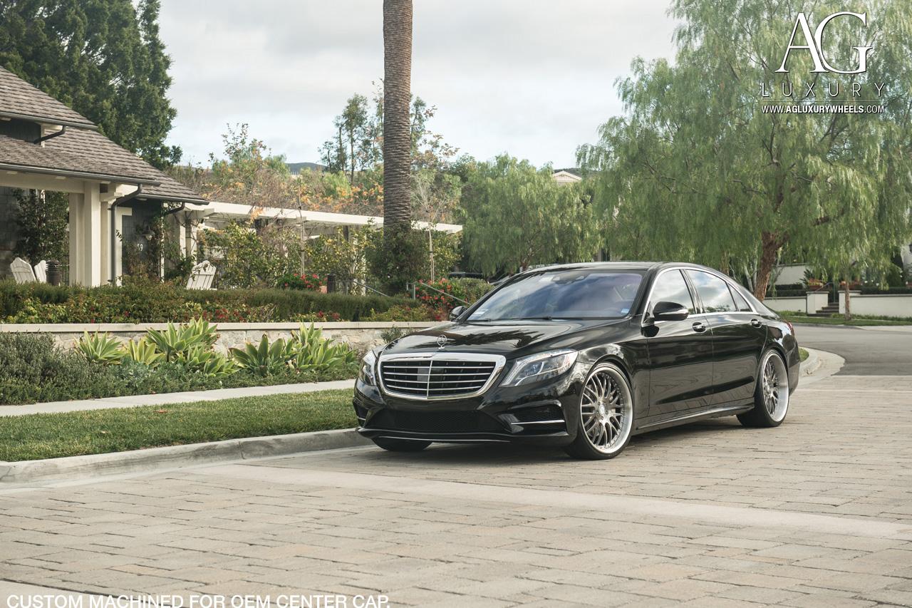 Ag Luxury Wheels Mercedes Benz S550 Forged Wheels