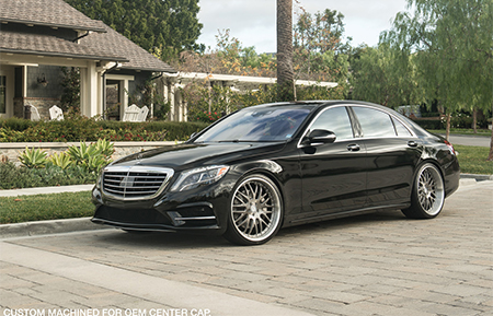 mercedes benz s class s550 amg s63 agl10 custom forged wheels brushed gunmetal grigio