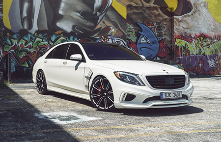 mercedes benz s550 s class custom forged wheels gloss black agl14