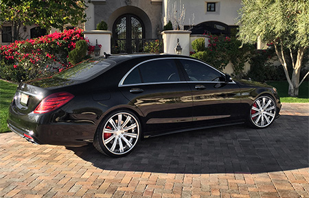 mercedes benz s63 s class amg custom forged wheels agl11 brushed polished