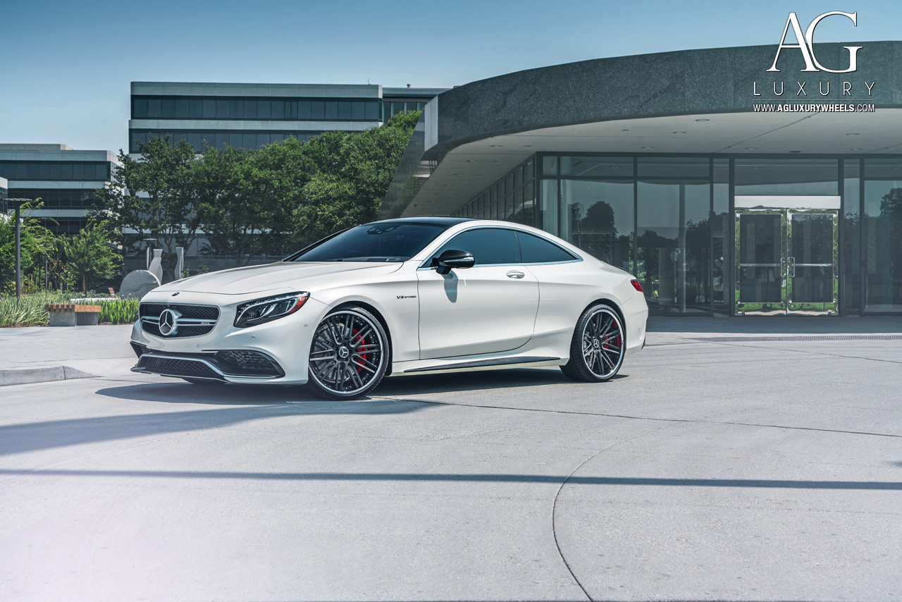 2017 White Mercedes Benz >> AG Luxury Wheels - Mercedes-Benz S63 AMG Coupe Forged Wheels