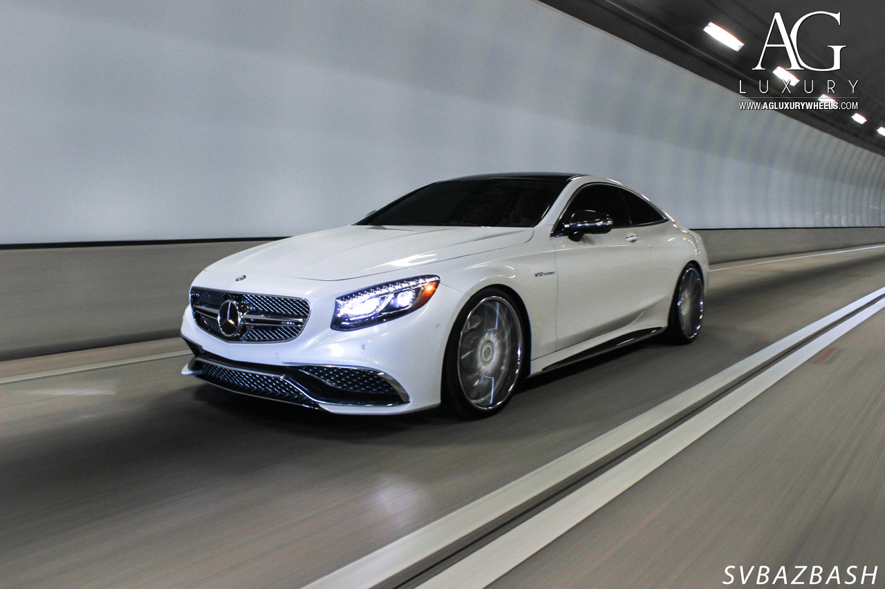 White Mercedes Benz >> AG Luxury Wheels - Mercedes-Benz S65 AMG Coupe Forged Wheels