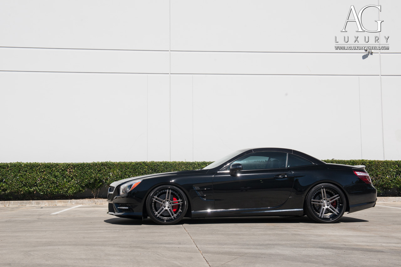 Ag luxury wheels mercedes benz sl550 forged wheels for Mercedes benz ag