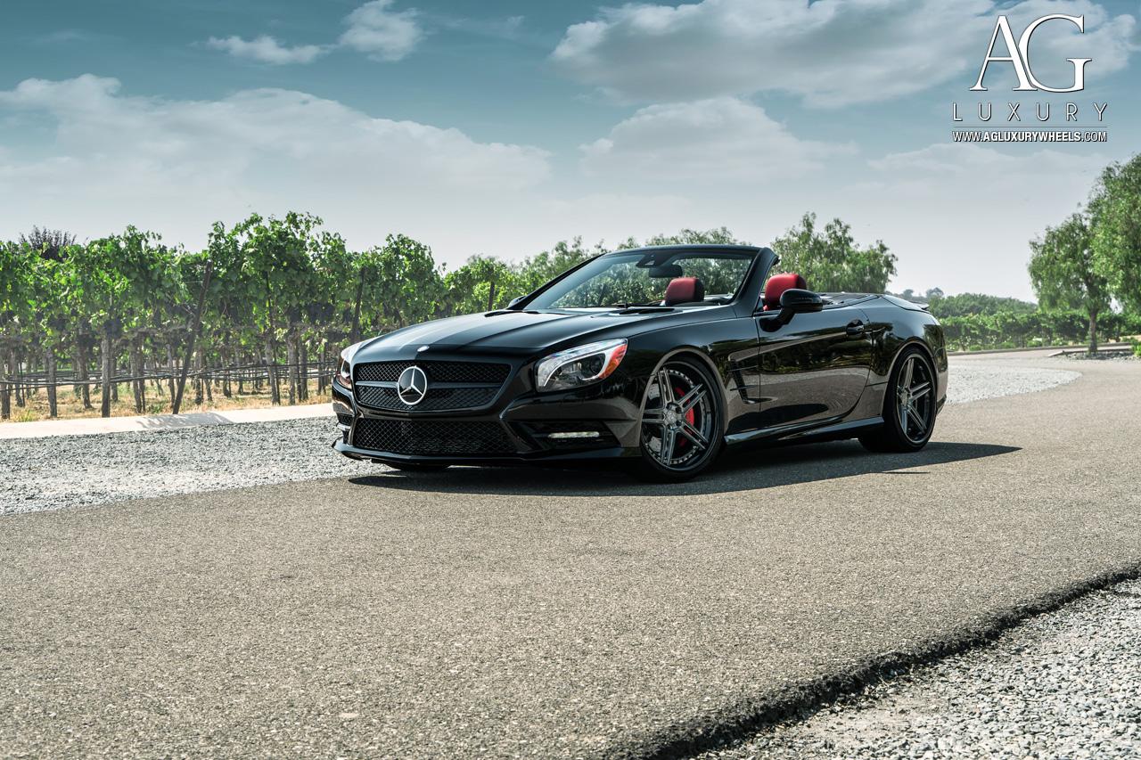 Mercedes Benz Wheels >> AG Luxury Wheels - Mercedes-Benz SL550 Forged Wheels