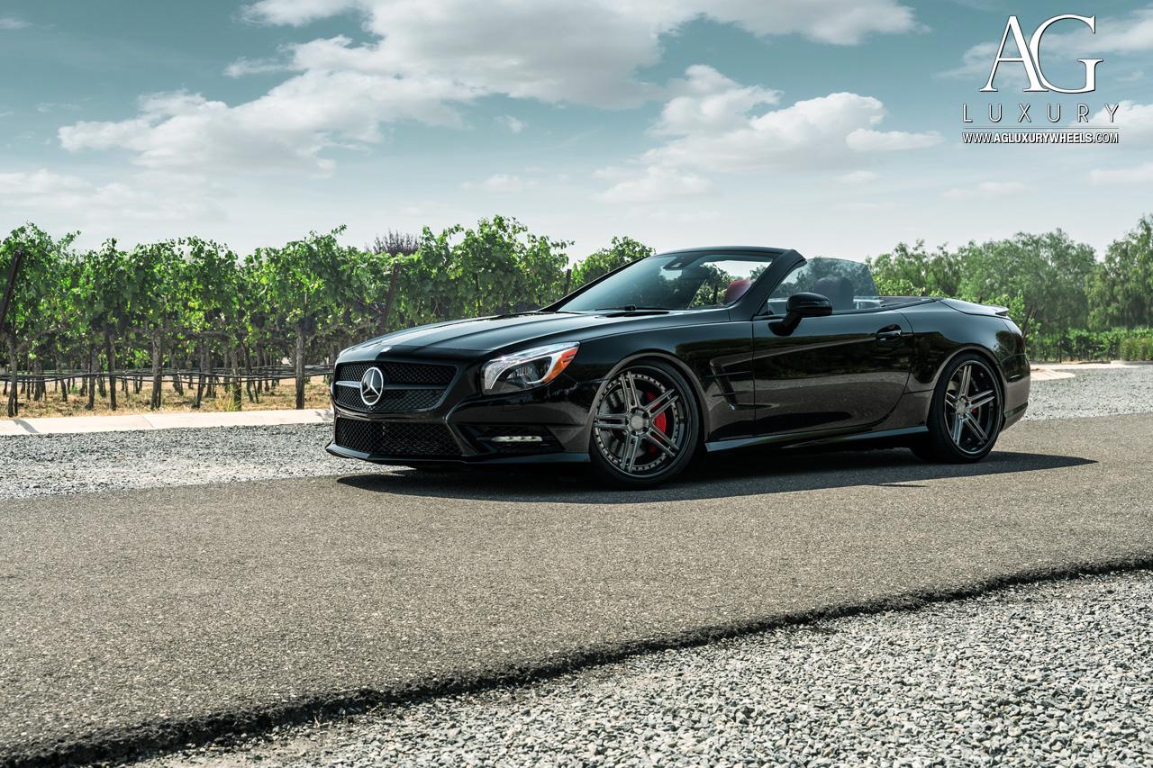 AG Luxury Wheels - Mercedes-Benz SL550 Forged Wheels