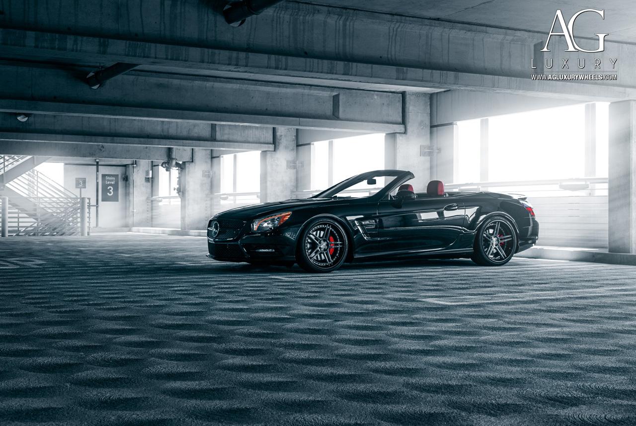 Ag Luxury Wheels Mercedes Benz Sl550 Forged Wheels