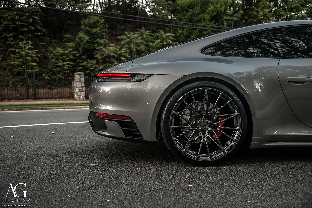 Ag Luxury Wheels Porsche 992 Carrera Forged Wheels