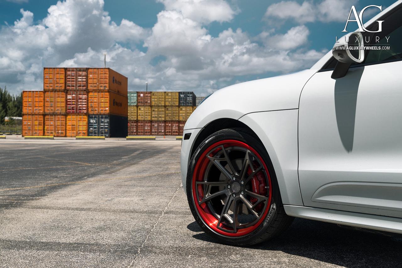 Ag Luxury Wheels Porsche Macan Turbo Forged Wheels