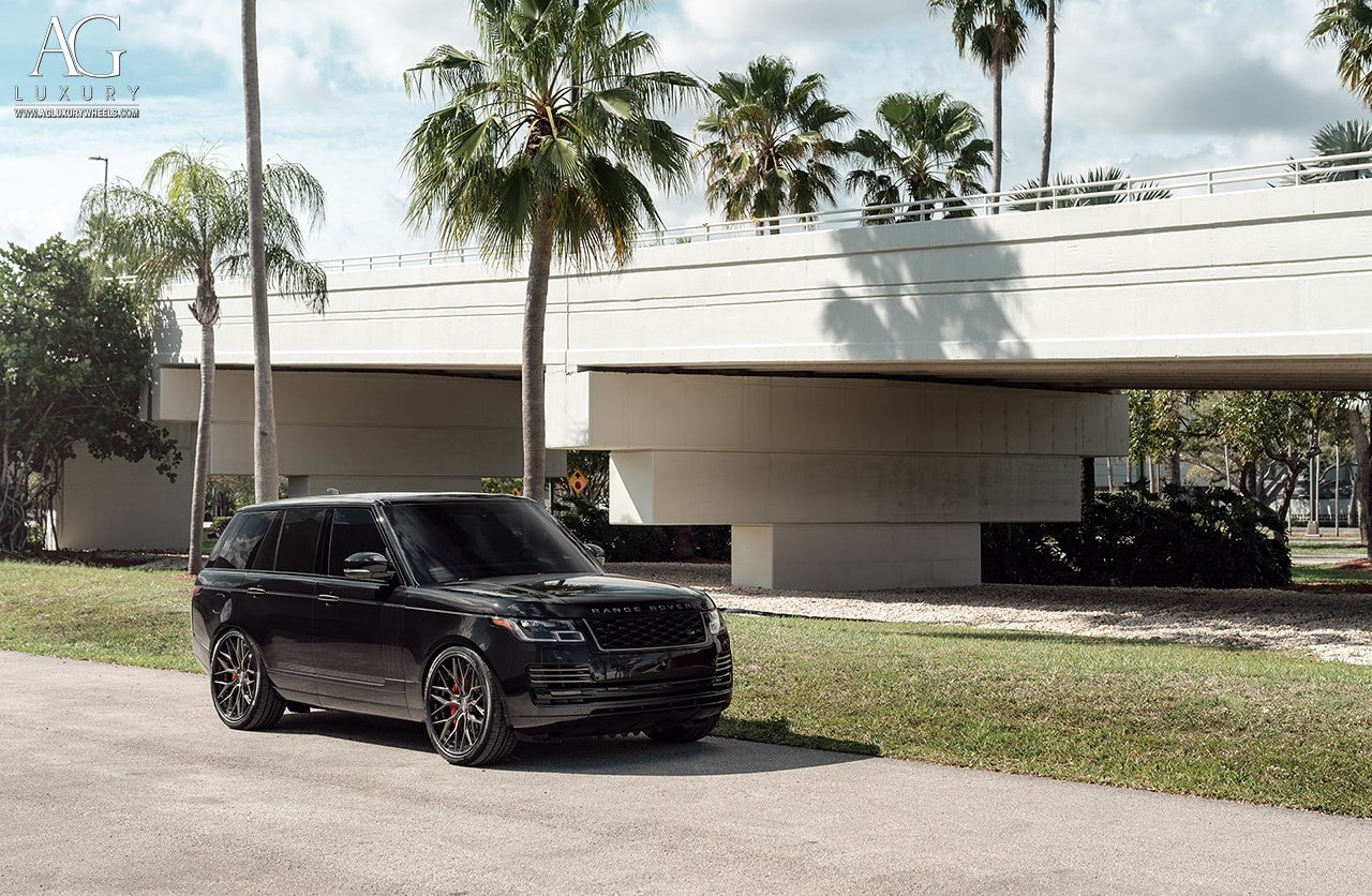 agluxury wheels agl43 range rover mccustoms rims custom forged spec3 24inch 24inch gloss grigio black staggered vossen anrky adv1
