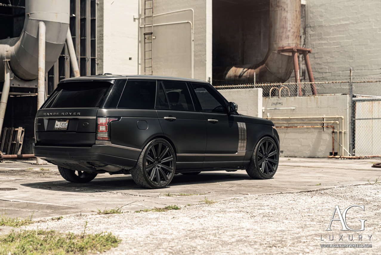 Range Rover Matte Black >> Ag Luxury Wheels Land Rover Range Rover Flow Form Monoblock Wheels