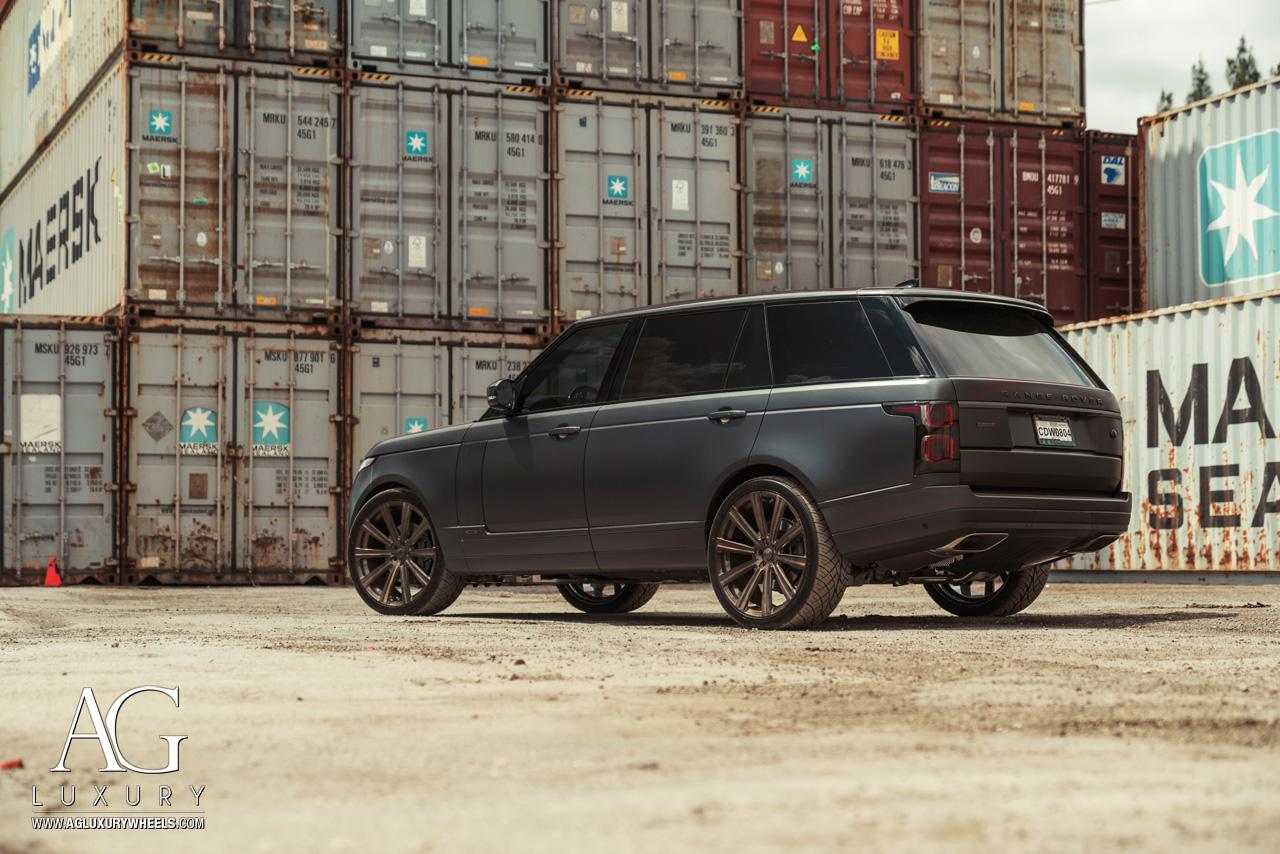 Ag Luxury Wheels Land Rover Range Rover Flow Form Monoblock Wheels