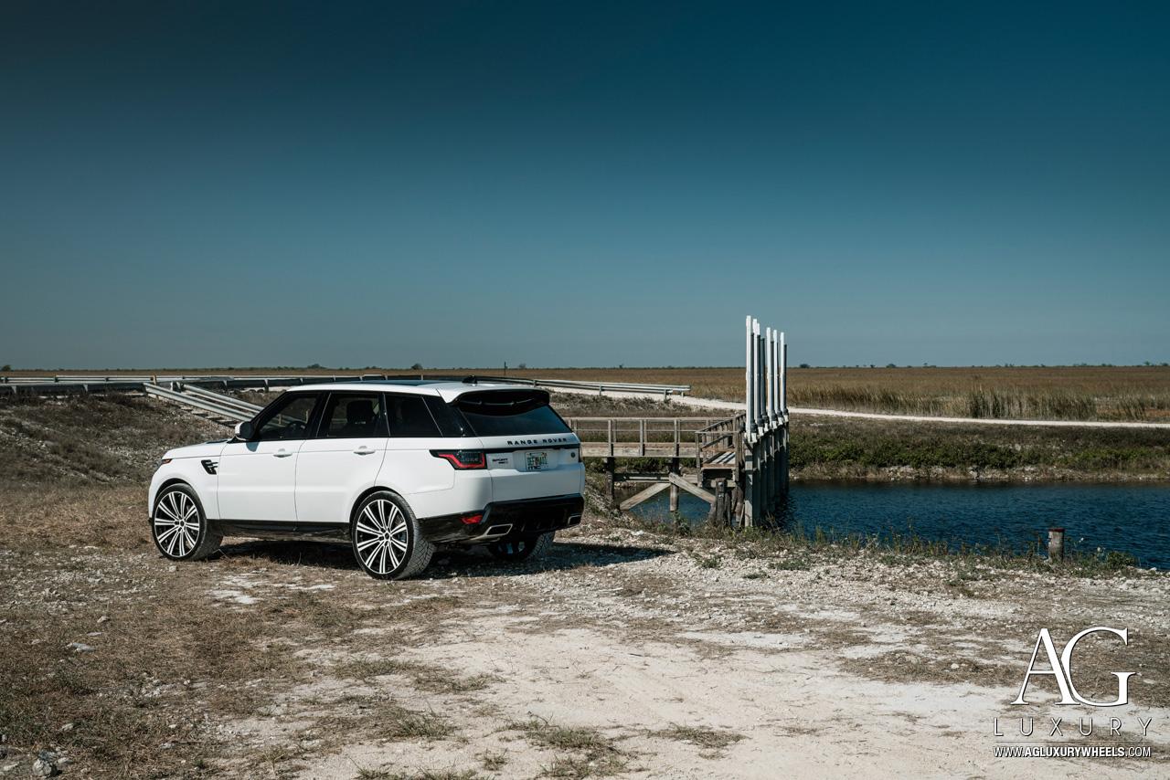 Ag Luxury Wheels Land Rover Range Rover Sport Flow Form Monoblock Wheels