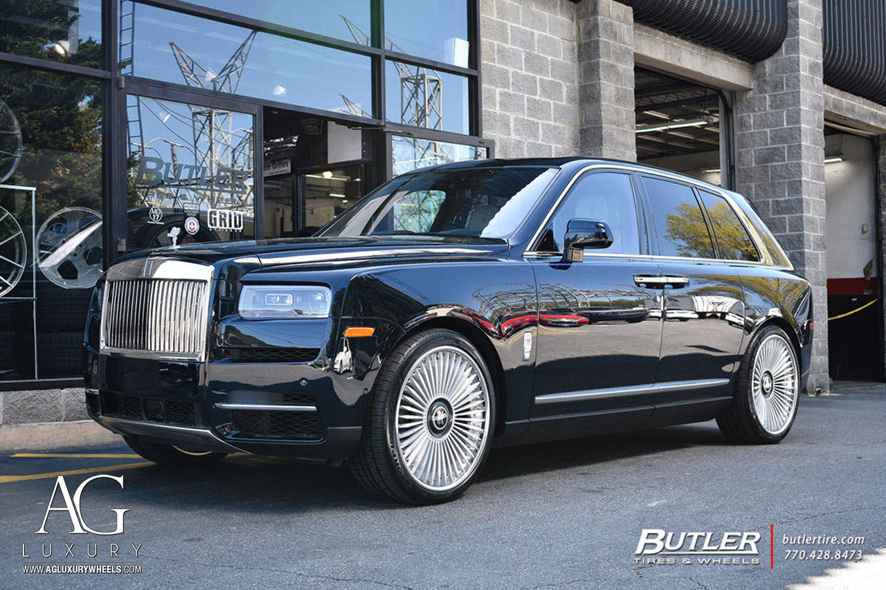 Ag Luxury Wheels Rolls Royce Cullinan Agluxury Agl45 Spec3 Forged Wheels