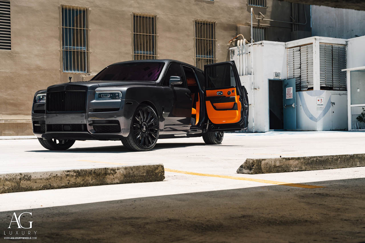 Ag Luxury Wheels Rolls Royce Cullinan Agluxury Agl48 Rr Monoblock Forged Wheels
