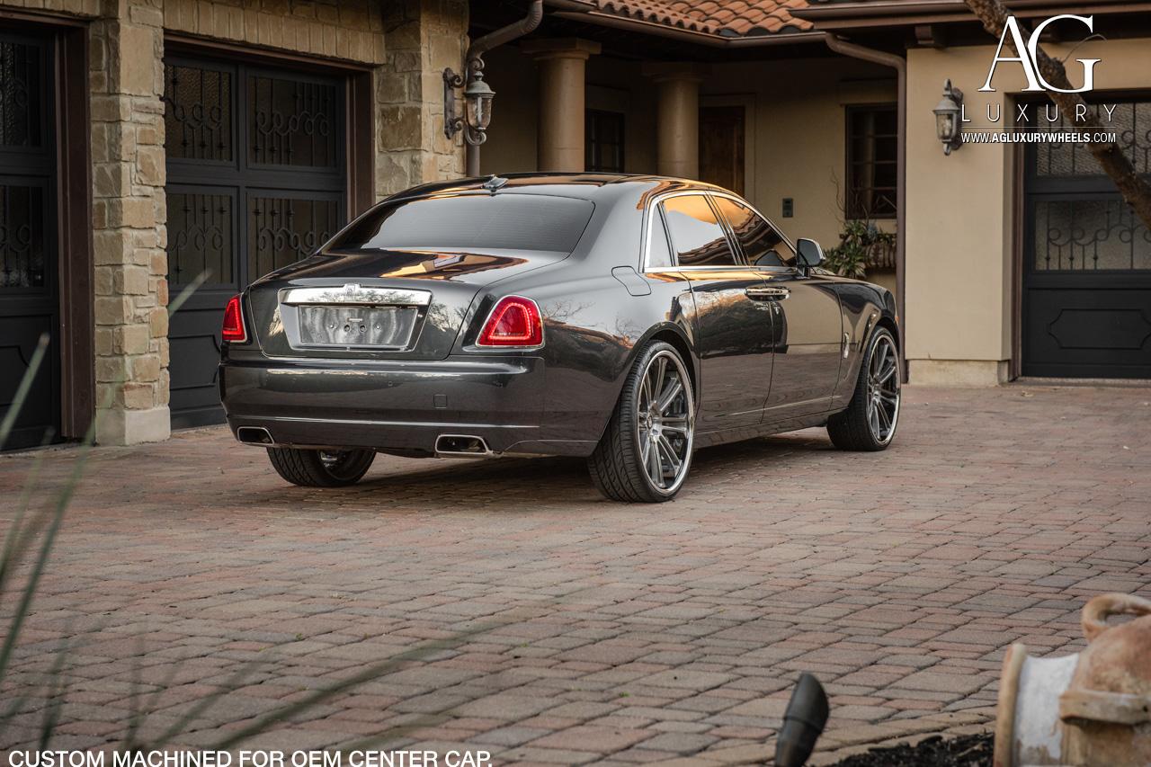 Rolls Royce Ghost Agl Brushed Grigio