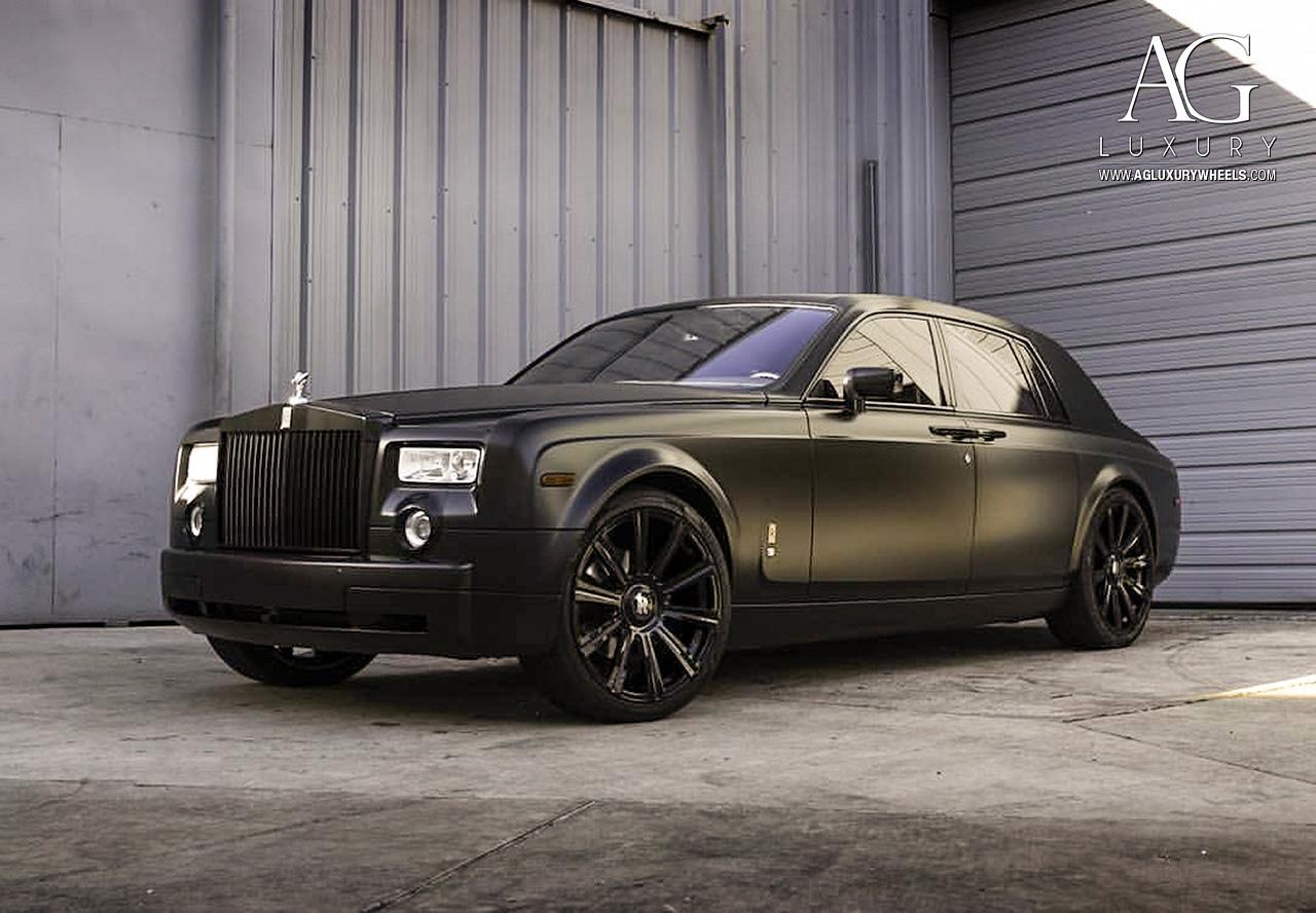 AG Luxury Wheels - Rolls-Royce Phantom Forged Wheels