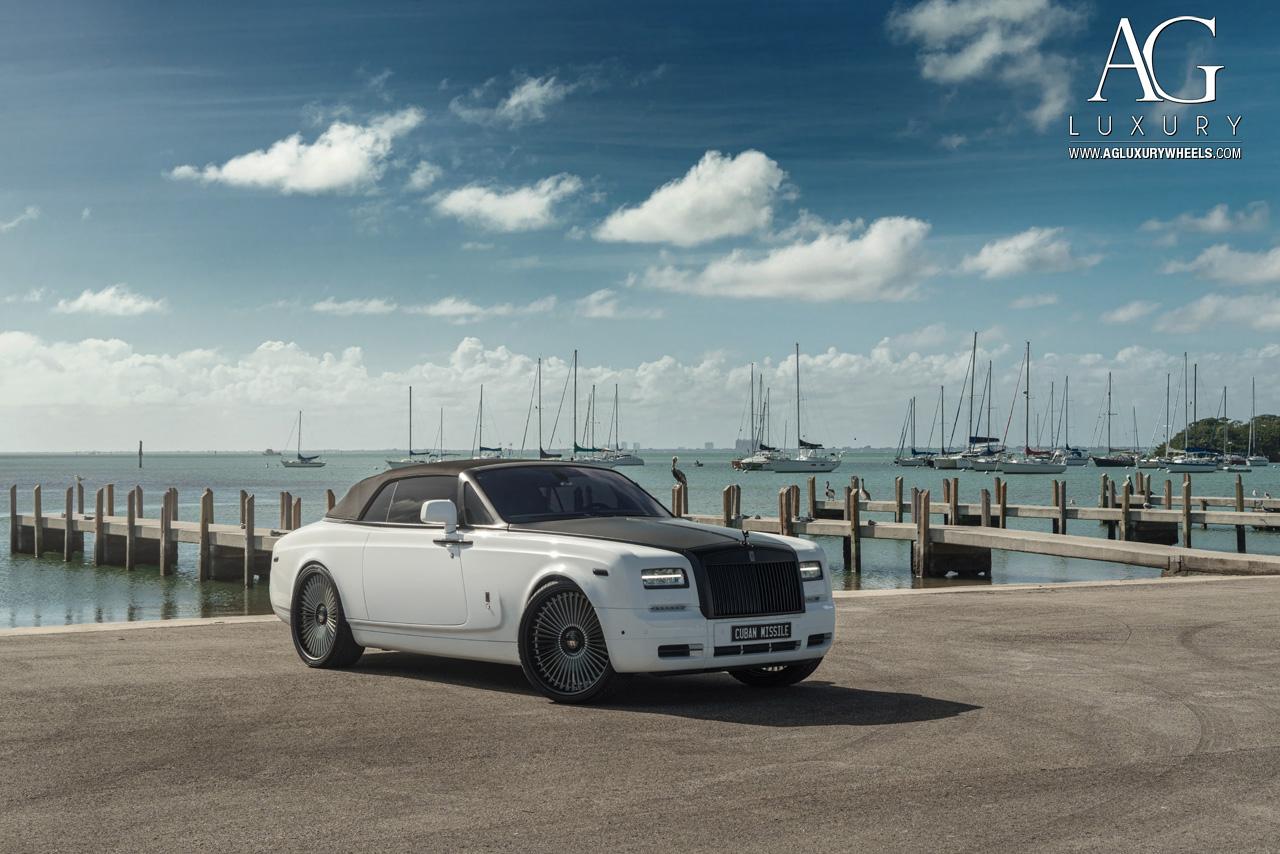 Ag Luxury Wheels Rolls Royce Phantom Drophead Coupe Forged Wheels