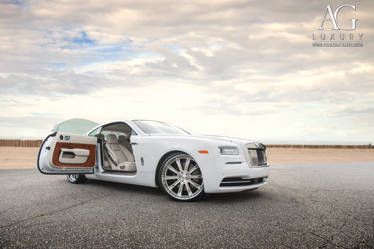 High Res Images >> AG Luxury Wheels - Rolls-Royce Wraith Forged Wheels