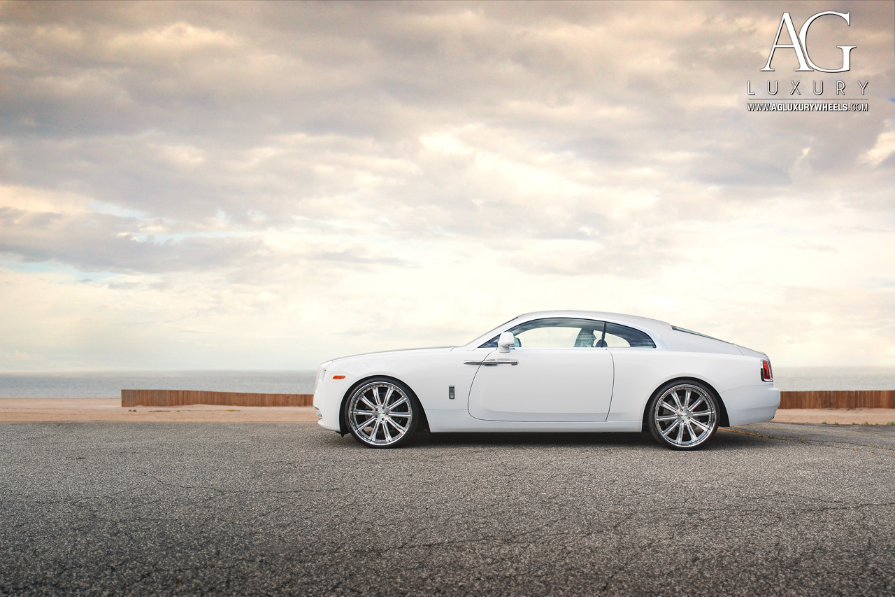 ag luxury wheels rollsroyce wraith forged wheels