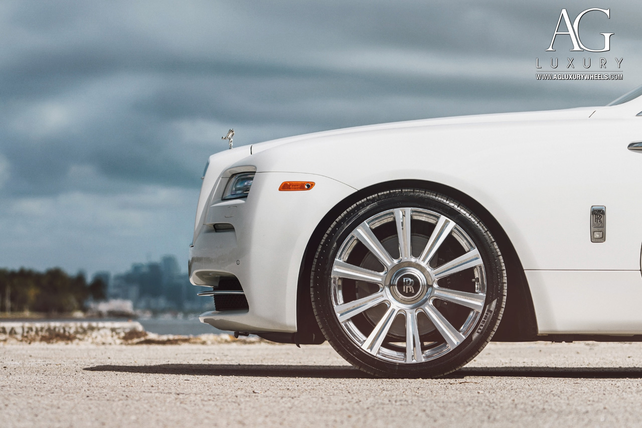Rolls Royce White >> AG Luxury Wheels - Rolls-Royce Wraith Forged Wheels