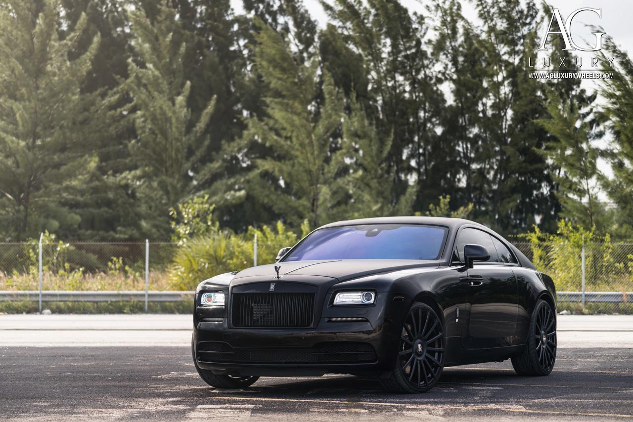ag luxury wheels rollsroyce wraith forged wheels