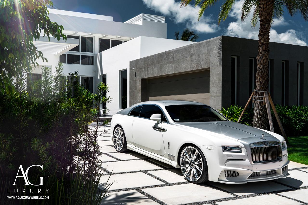 Ag Luxury Wheels Rolls Royce Wraith Forged Wheels