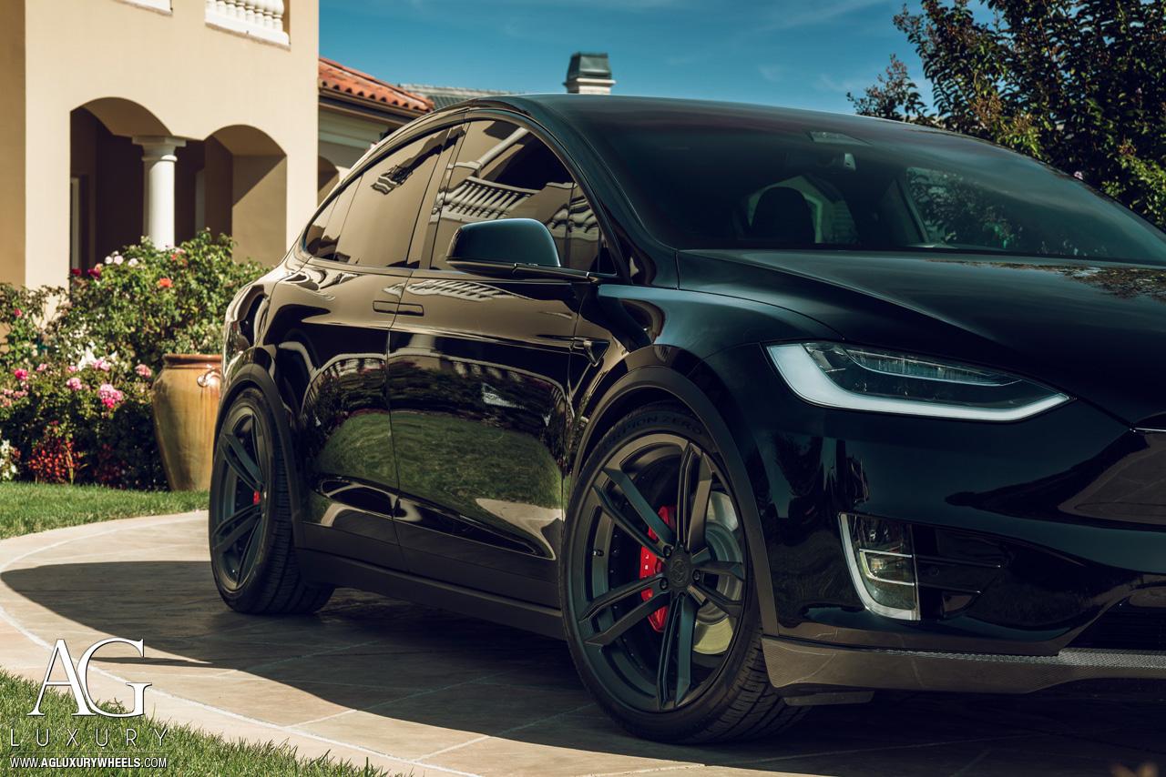 Ag Luxury Wheels Tesla Model X Duo Block Forged Wheels