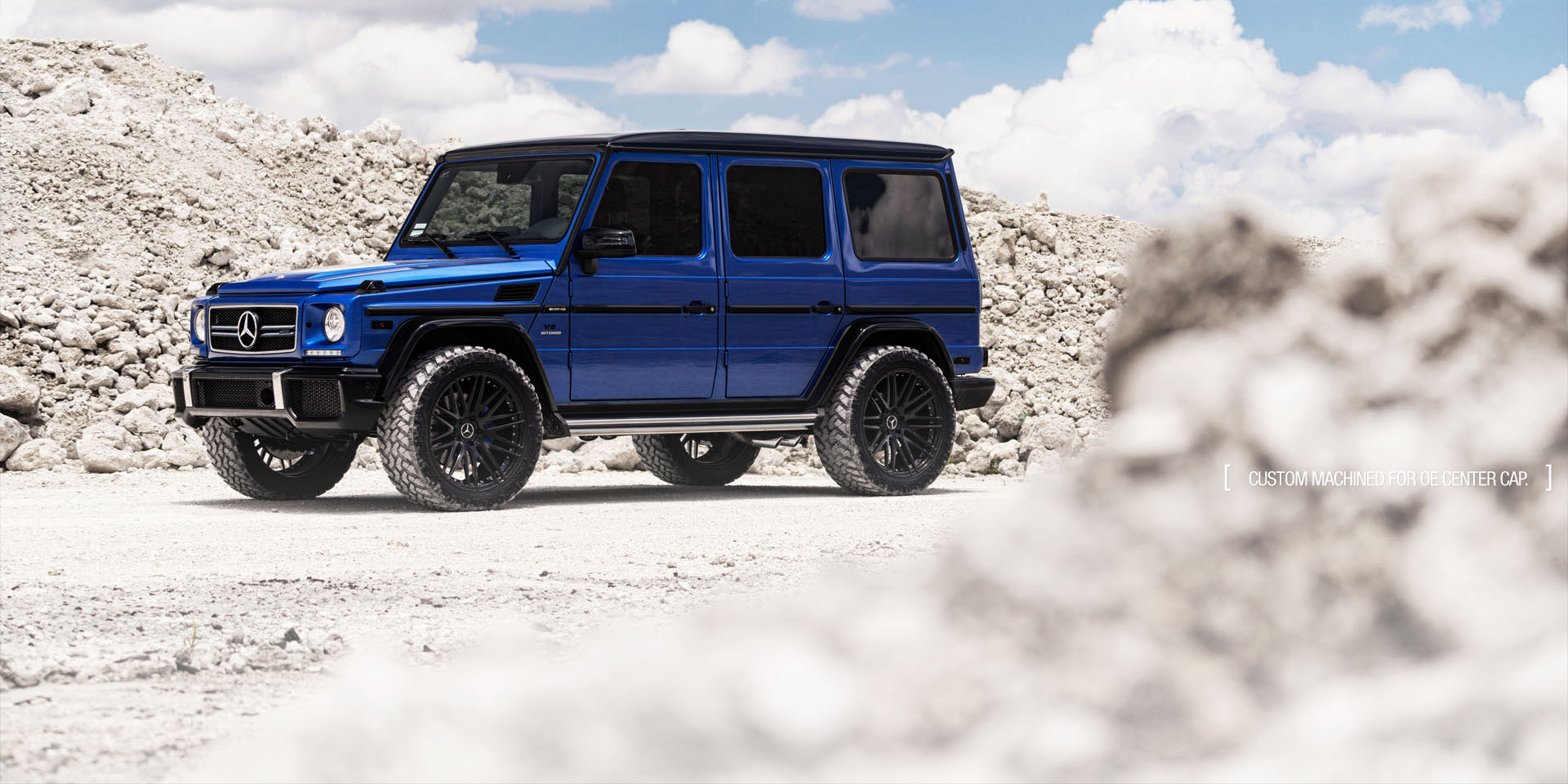 Mercedes G63 AMG forged concave black wheels