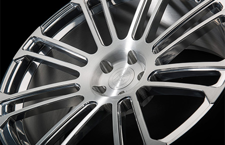 agl14 custom forged monoblock concave wheels brushed polished
