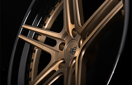 agl15 spec3 concave matte brushed antique bronze gloss black lip custom forged wheels