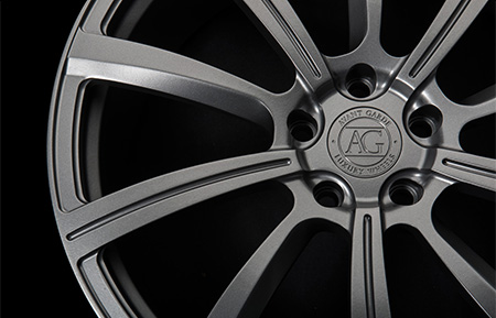 agl17 monoblock forged concave wheels dolphin grey matte gray gunmetal