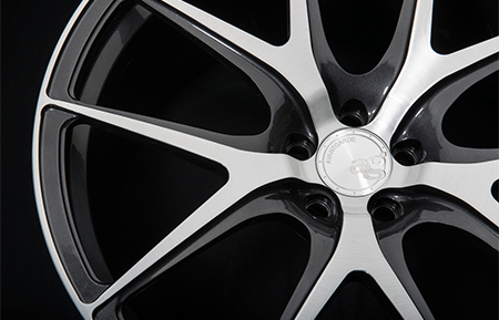 agl23 monoblock forged concave wheels brushed gunmetal