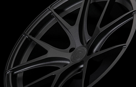 agl23 monoblock forged concave wheels textured black powder coat finish