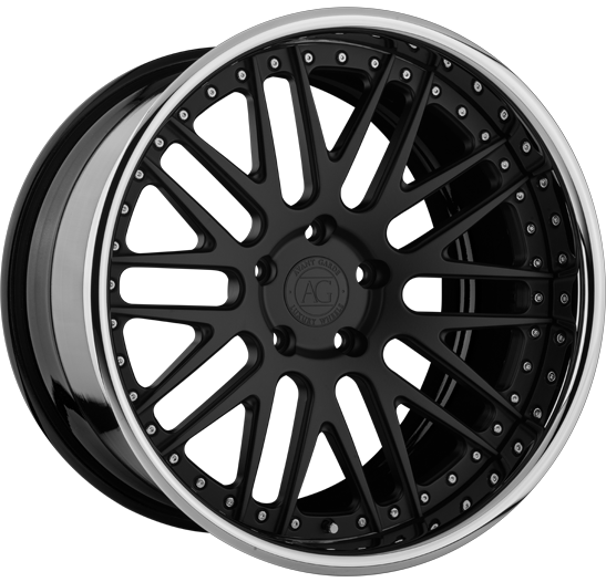agl10 forged concave mesh wheels