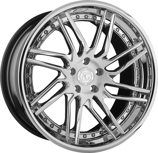 agl28 forged concave directional wheels