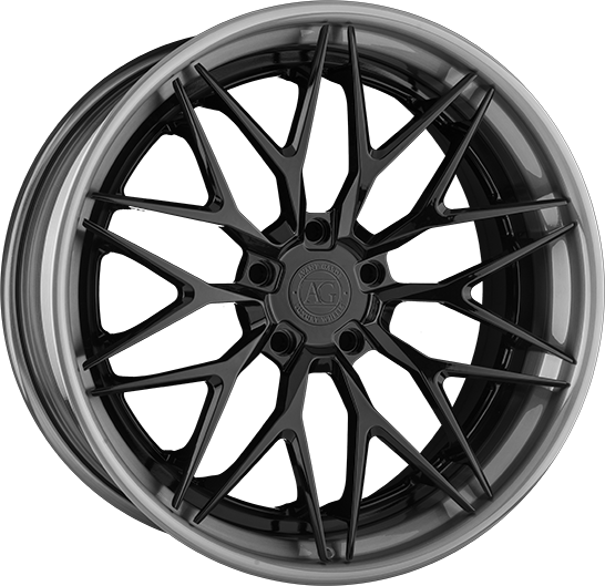 agl40 duo block concave split tejn spoke split wheel avant garde agluxury avantgarde luxury wheels rims custom forged matte black